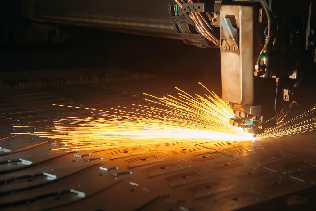 laserowa obróbka stali